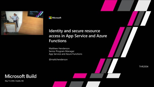Identity and secure resource access in App Service and Azure Functions