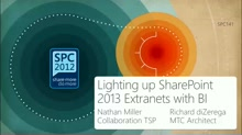 Lighting up SharePoint 2013 Extranets with Business Intelligence