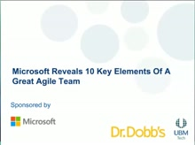 10 Key Elements of a Great Agile Team