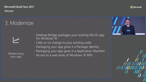 Modernize your Desktop App for Windows 10 with the Desktop Bridge