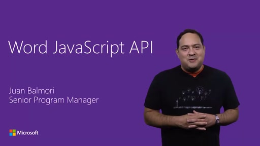Word JavaScript add-in APIs