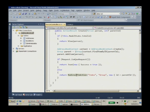 Israeli MSDN Session: ASP.NET MVC 3 with Ori Calvo February 22nd 2011 Part 2