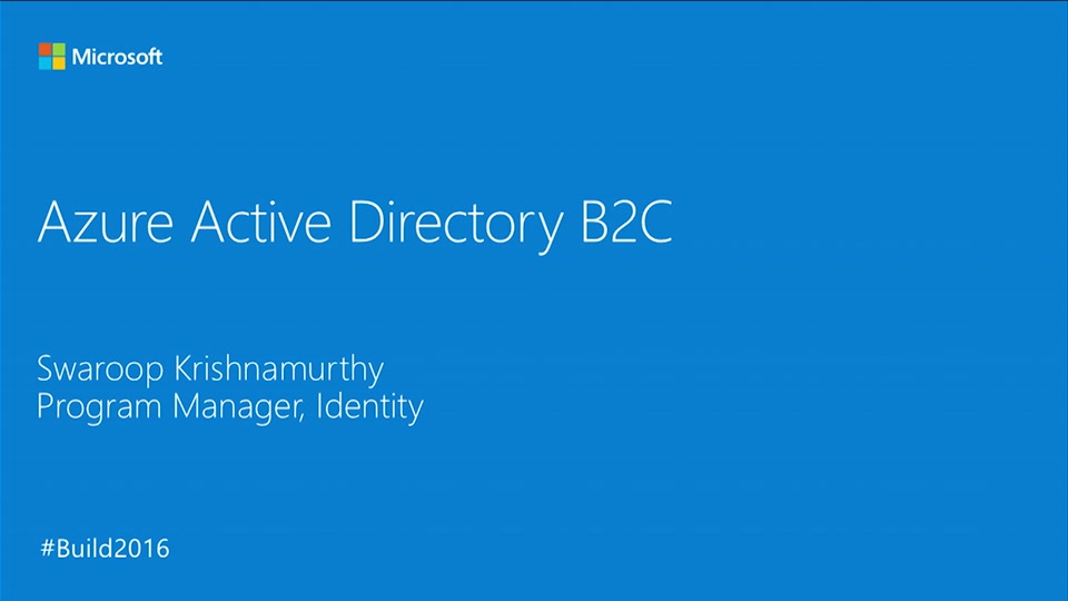 Business-to-Consumer Identity Management with Azure Active Directory B2C