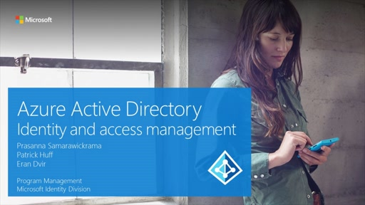 【AD15th】Azure Active Directory ~ Identity and access management