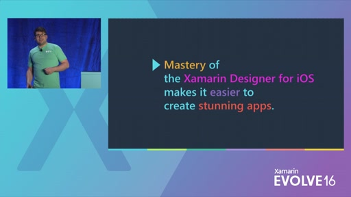 Create Stunning Apps with the Xamarin Designer for iOS