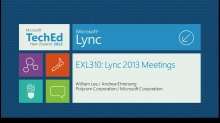 Microsoft Lync 2013 Meeting Improvements