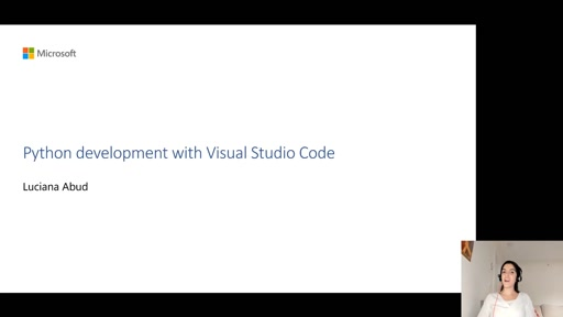Python development with Visual Studio Code