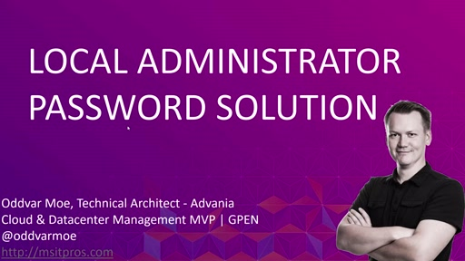 Gjennomgang av Local Administrator Password Solution (LAPS)