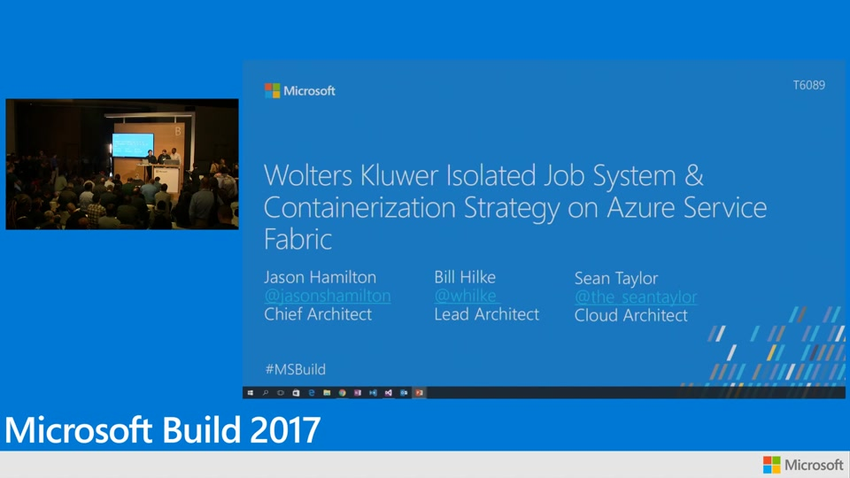 How Wolters Kluwer created an isolated job system and containerization strategy on Azure Service Fabric