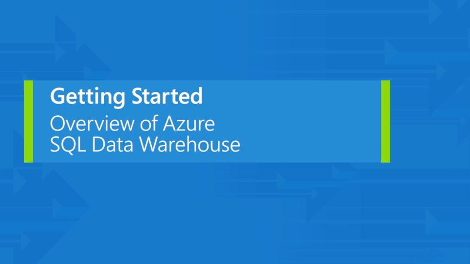 Overview of Azure SQL Data Warehouse