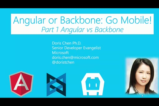 Angular or Backbone: Go Mobile! (Part1)