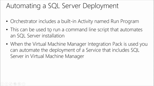 Automate Workloads with System Center Orchestrator: (05) Automating SQL Server with Orchestrator