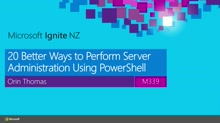 20 Better Ways to Perform Server Administration Using PowerShell