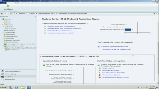 TechNet Radio: What's New in Endpoint Protection for System Center 2012 SP1 Configuration Manager