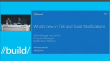 What's New for Tiles and Toast Notifications
