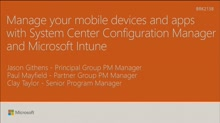 Manage your mobile devices and apps with System Center Configuration Manager and Microsoft Intune