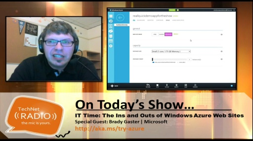 TechNet Radio: IT Time: The Ins and Outs of Windows Azure Web Sites for IT Pros
