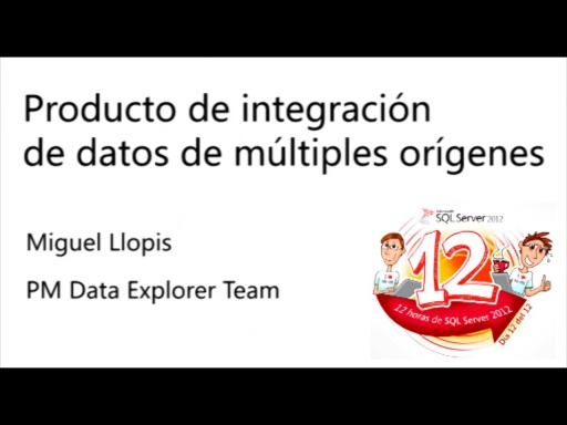 Entrevista con Miguel Llopis, PM Data Explorer Team