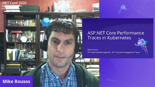 Collecting ASP.NET Core Performance Traces in a Kubernetes Cluster