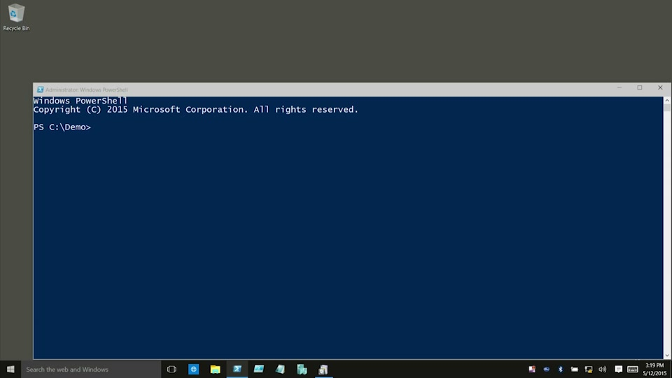 Remotely Managing Hyper-V on Nano Server TP 2 from Windows 10