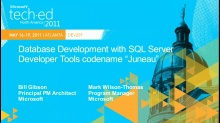 "Introducing Microsoft SQL Server Developer Tools,Code-Named ""Juneau"": An Introduction to Doing Database Development in a Modern Way"