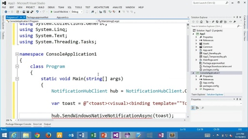Azure Notification Hubs with Elio Damaggio - Part 1 - Broadcasting Alerts