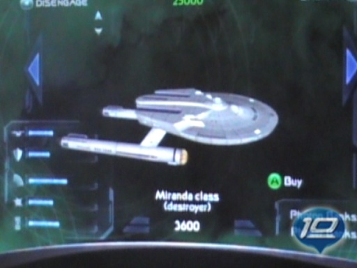 Skirmish Mode in Star Trek Legacy for the Xbox 360