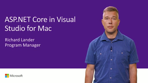ASP.NET Core cloud back ends and web apps in Visual Studio for Mac