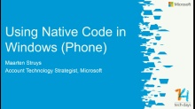 Using native code in your Windows and Windows Phone Applications