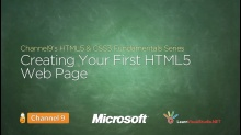 Creating Your First HTML5 Web Page - 02