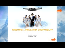 NTK - Windows 7 - Aplication compatibility