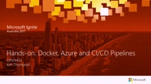 Hands-on: Docker, Azure and CI/CD Pipelines