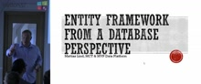 Entity Framework from a database perspective