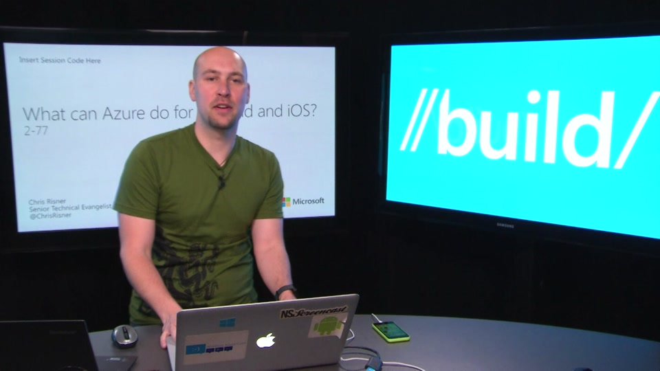 What Can Azure Do for Android and iOS?