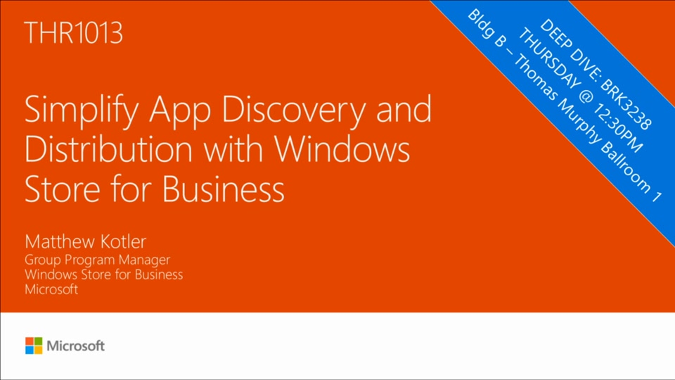 Simplify app discovery and distribution with windows store for Windows distribution