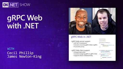 gRPC Web with .NET