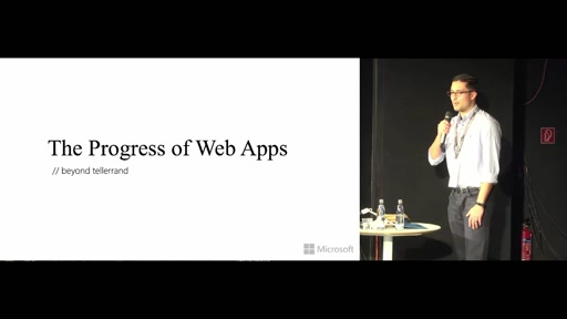 The Progress of Web Apps