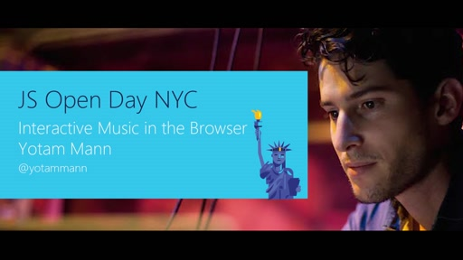 Interactive Music in the Browser with Yotam Mann