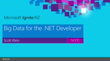 Big Data for the .NET Developer