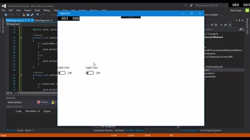 Developing Windows 10 UWP APP - A Programmer's Guide to Internet of Things - Part 4
