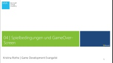 04 | Spielbedingungen und Game Over-Screen