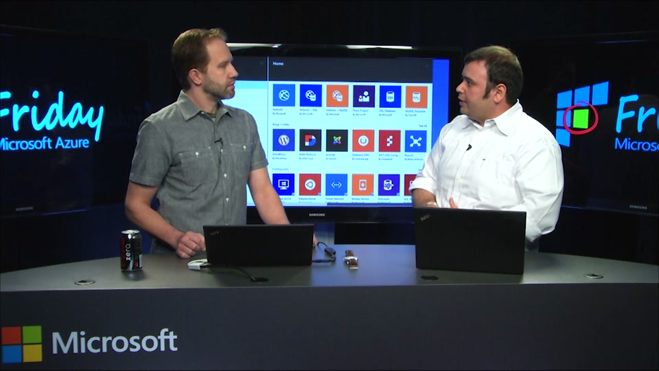 Azure Templates in the new Azure Portal