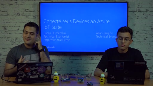 Conectando seus devices ao Azure IoT Suite