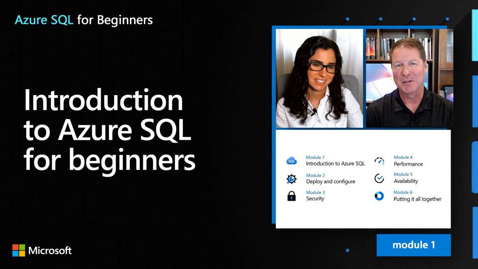 Introduction to Azure SQL for beginners (1 of 61)