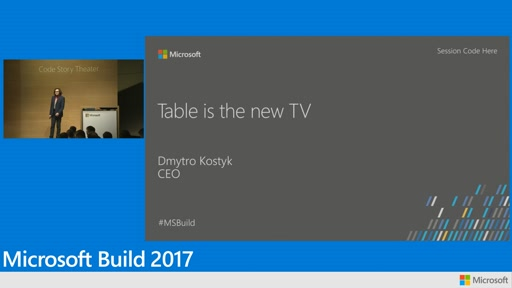 Building touch enabled restaurant tables with Windows 10 IoT and UWP