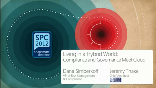 AvePoint: Living in a Hybrid World: Compliance and Governance Meet Cloud