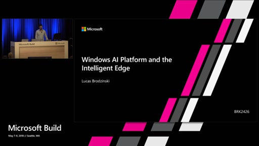 Windows AI Platform and the Intelligent Edge