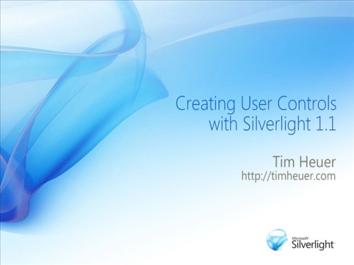 Silverlight: Implementing User Controls in 1.1
