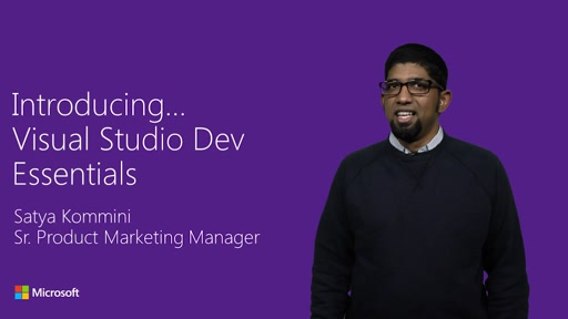 Introducing Visual Studio Dev Essentials