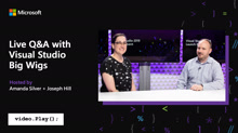 Live Q&A with Visual Studio Big Wigs